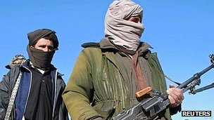 Taliban fighters (file image)