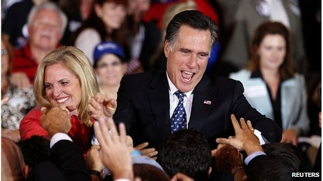 Mitt Romney after his Florida win