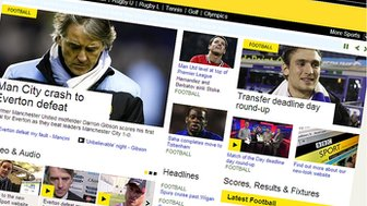 BBC Sport new page