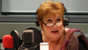 Dame Jenni Murray on Woman's Hour