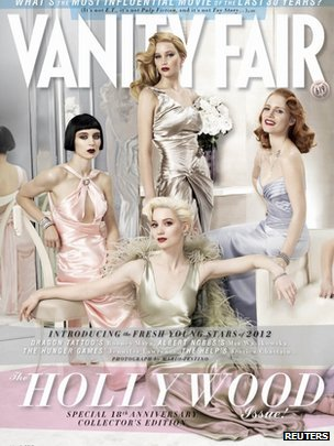 Vanity Fair cover by Mario Testino
