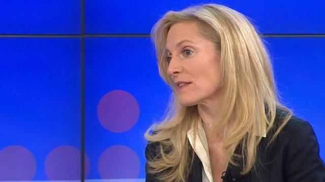 Lael Brainard at the BBC World Debate in Davos