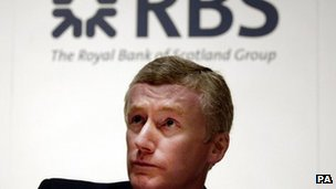 Fred Goodwin, then RBS chief executive  in 2007