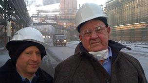 Steve Rosenberg and Yevgeny Kozlov