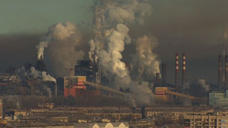 Nizhny Tagil's skyline