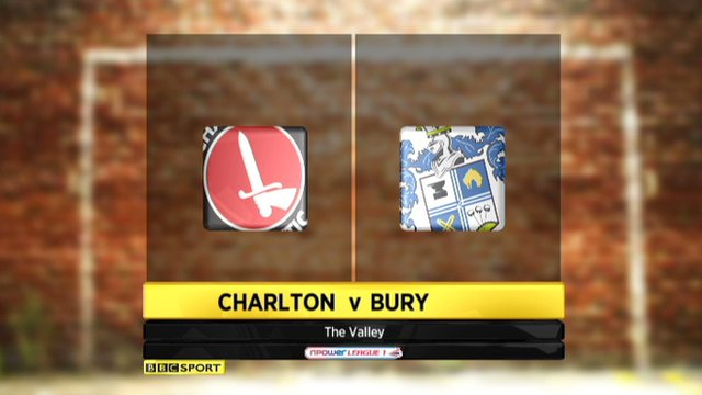 Highlights - Charlton 1-1 Bury