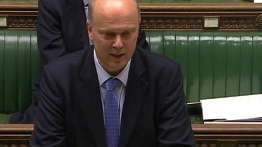 Work and Pensions Minister Chris Grayling