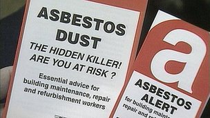 Asbestos awareness leaflets