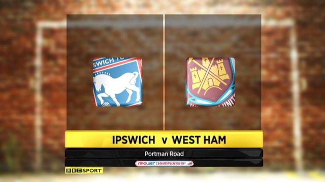 Ipswich 1-1 West Ham