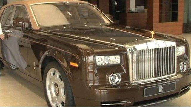 A custom made Rolls Royce