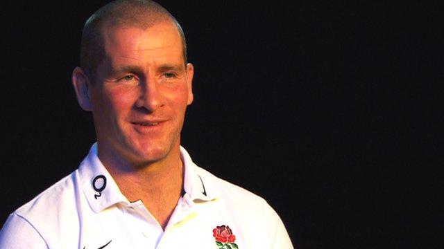 England interim coach Stuart Lancaster