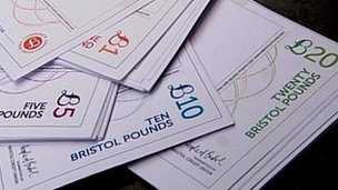Designs for the new Bristol pound