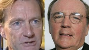 Lee Child and James Patterson