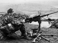 Falklands fighting