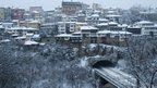 Snow in Veliko Tarnovo, Bulgaria. Photo: Pavel Gramatikov
