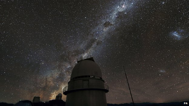 Astronomers used data from the European Southern Observatory