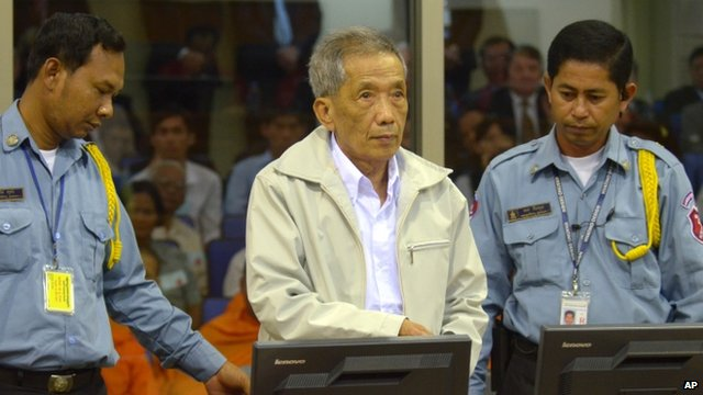 Khmer Rouge chief Kaing Guek Eav