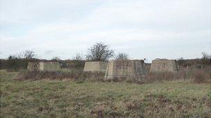 Former radar station