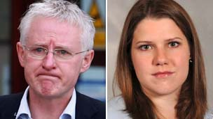 Norman Lamb and Jo Swinson