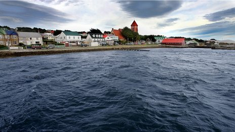 Stanley, the Falklands capital