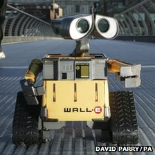 Wall-E. Pic: David Parry/PA