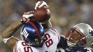 David Tyree's stunning catch in Super Bowl XLII