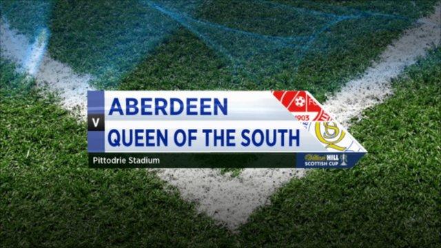 Highlights - Aberdeen 1-1 Queen of the South