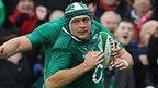 Rory Best scores to give Ireland the lead at half-time
