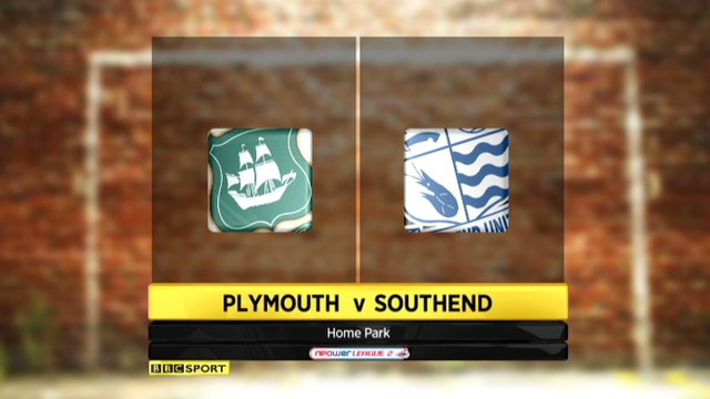 Plymouth 2-2 Southend