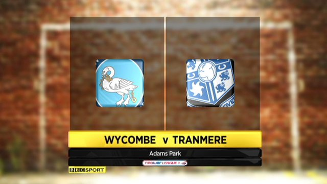 Highlights - Wycombe 2-1 Tranmere