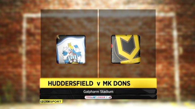 Highlights - Huddersfield 1-1 MK Dons