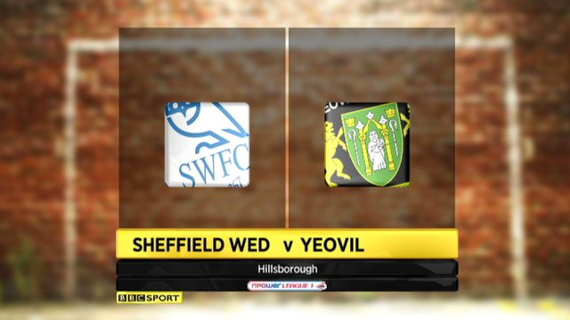 Highlights - Sheffield Wed 2-1 Yeovil
