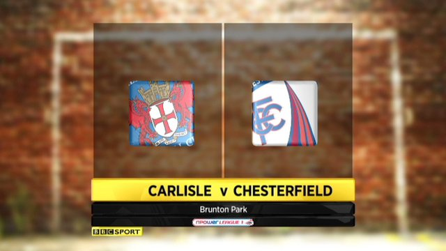 Highlights - Carlisle 2-1 Chesterfield