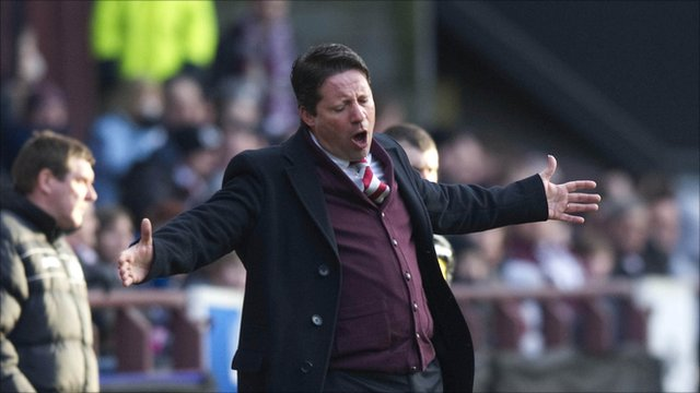 Heart of Midlothian manager Paulo Sergio