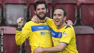 Cillian Sheridan and Lee Croft