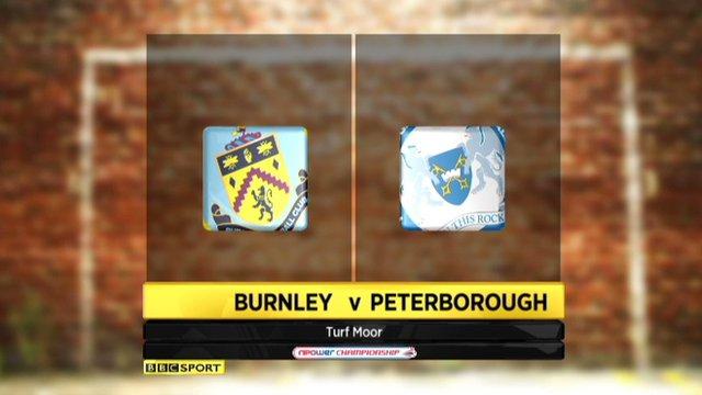Highlights - Burnley 1-1 Peterborough