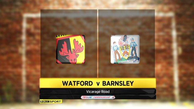 Highlights - Watford 2-1 Barnsley