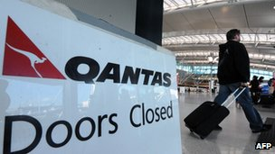 File photo of Qantas