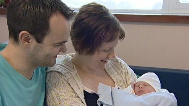 Steve Watson and Sarah Alder with daughter Megan