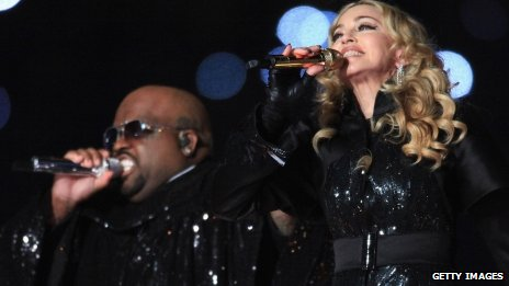 Cee Lo Green and Madonna