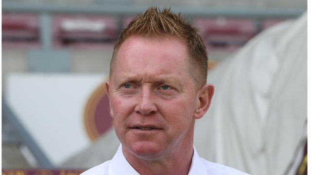 Wycombe Wanderers manager Gary Waddock