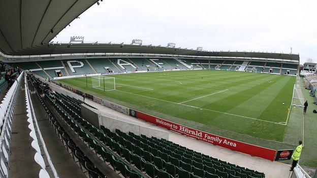 Bbc sport plymouth argyle investigate home park racism claims