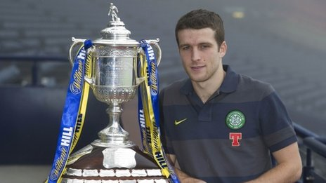 Celtic defender Adam Matthews