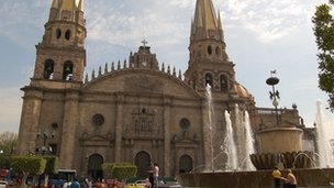 Church in Guadalajara