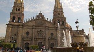 Church in Guadalajara