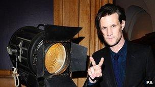 Matt Smith arrives for the London Evening Standard British Film Awards