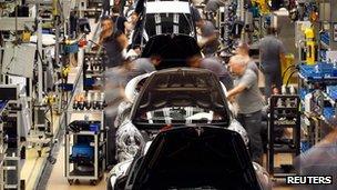 Porsche factory