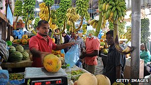 Maldivian shopkeeper