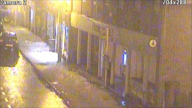 CCTV image of Bingham Market Place