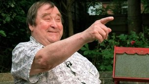 Comedian Bernard Manning